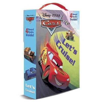 Let's Cruise - by Frank Berrios (Board Book)