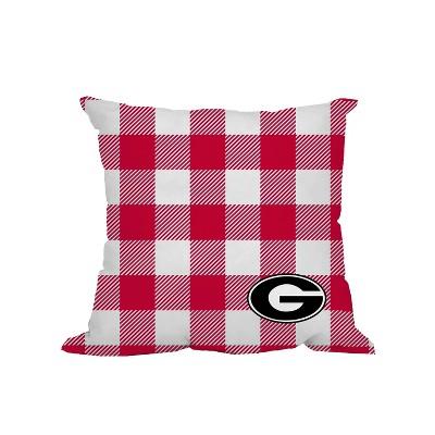 """NCAA Georgia Bulldogs 16"""" Outdoor Pillow"""