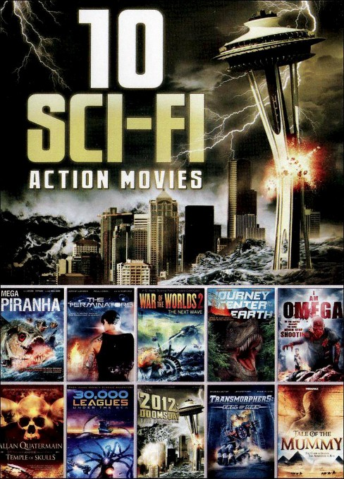 10 sci fi action movies (DVD) - image 1 of 1