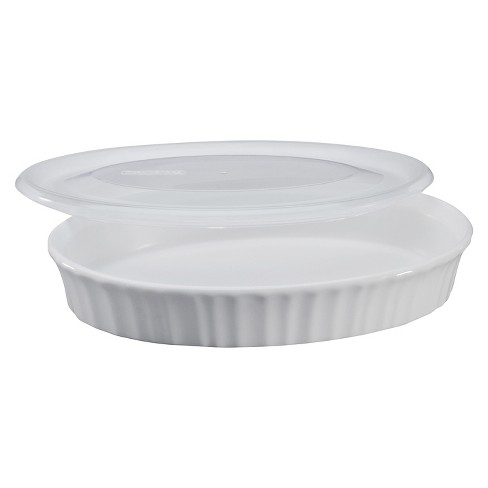 CorningWare® 27 oz Dish with Plastic Cover- French White - image 1 of 1