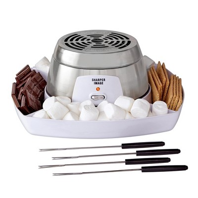 Smores Speciality Cooking Appliances Maker Brown - Sharper Image