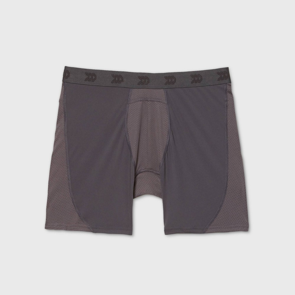Men 39 S Boxer Briefs All In Motion 8482 Fitness Gray Xl