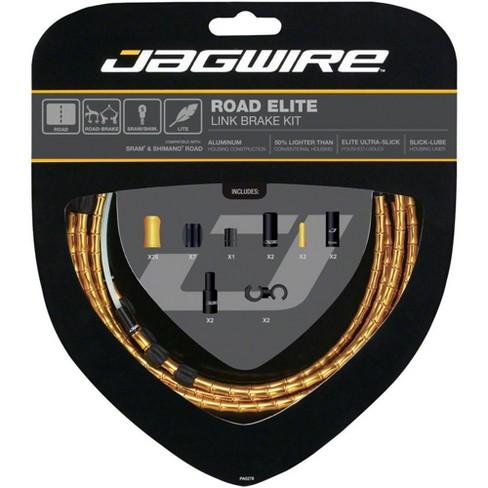 New Jagwire Pro Brake Cable Kit Mountain SRAM//Shimano Organic Green