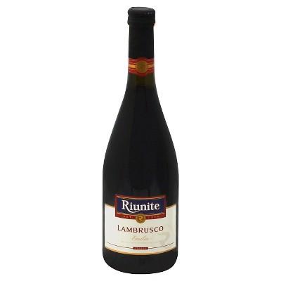 Riunite Emilia Lambrusco Red Wine - 750ml Bottle