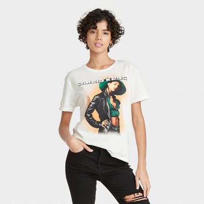 Women's Alicia Keys Short Sleeve Graphic T-Shirt - White