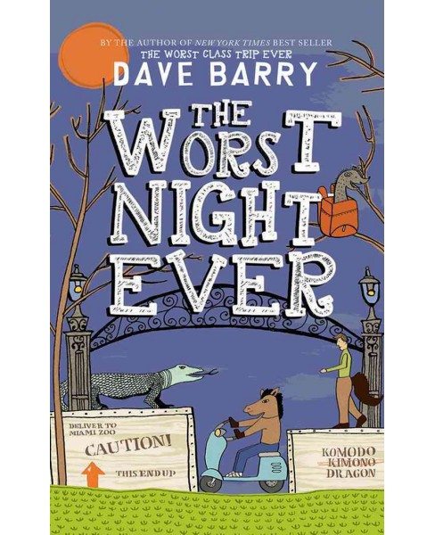 Worst Night Ever (Unabridged) (CD/Spoken Word) (Dave Barry) - image 1 of 1