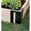 Plow & Hearth - Steel Raised Garden Bed Corner Brackets, Set of 4 - image 4 of 4