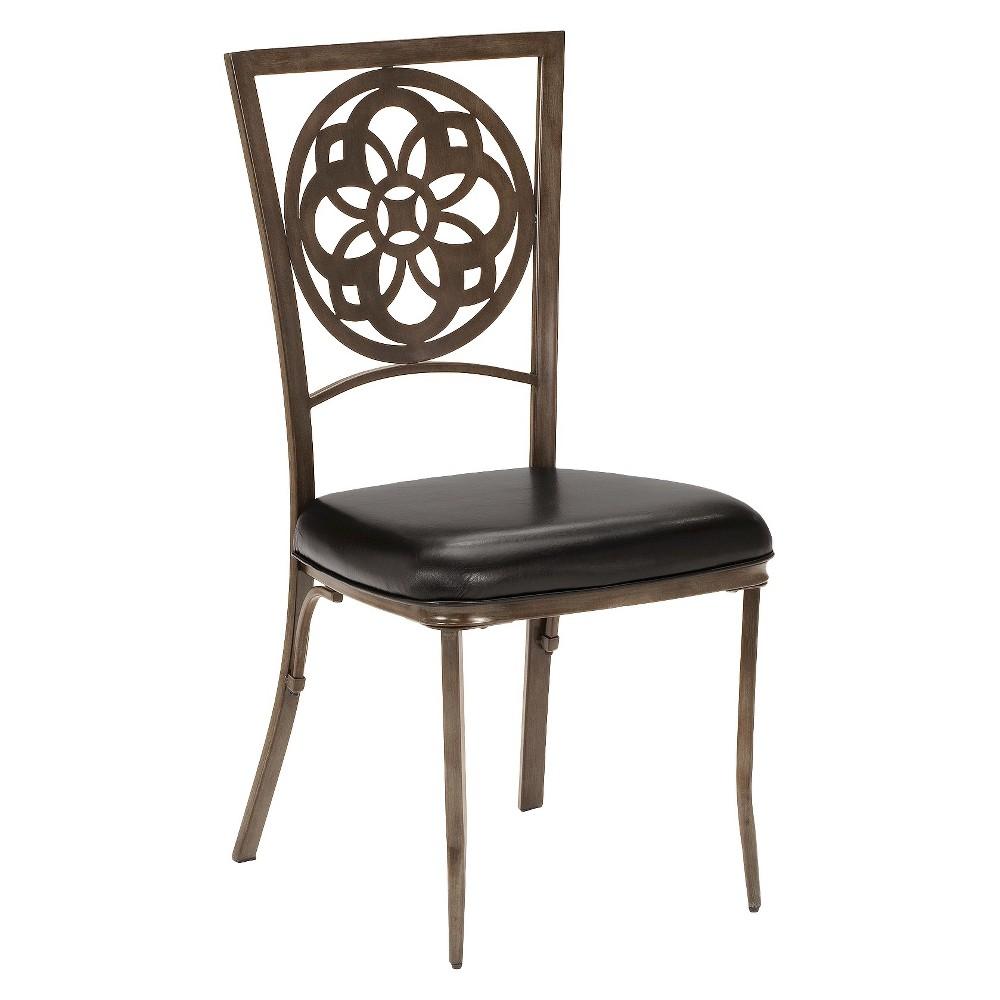 Marsala Dining Chair Metal - Brown (Set of 2) - Hillsdale Furniture