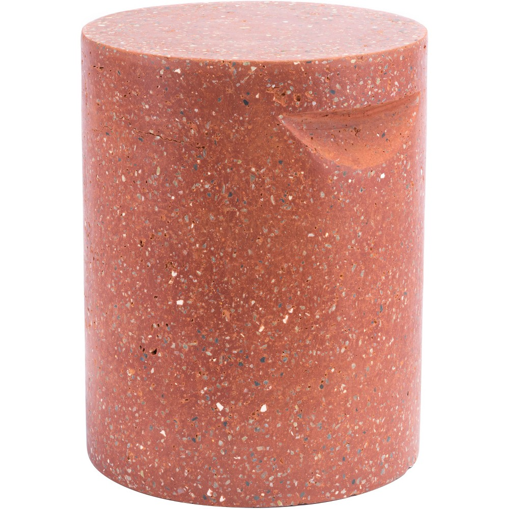 Modern Cement Seat Red - ZM Home