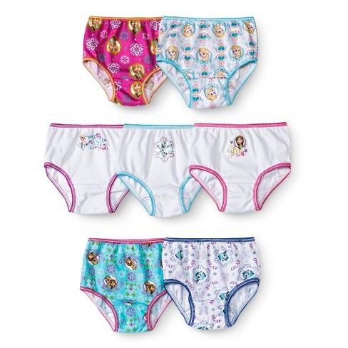 Toddler Girls' Disney 7 Pack Frozen Panty - image 1 of 1