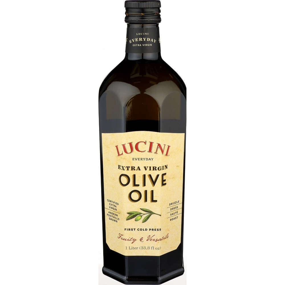 Lucini Everyday Extra Virgin Olive Oil - 33.8oz