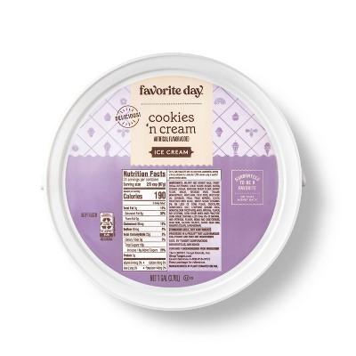 Cookies n' Cream Ice Cream - 128oz - Favorite Day™
