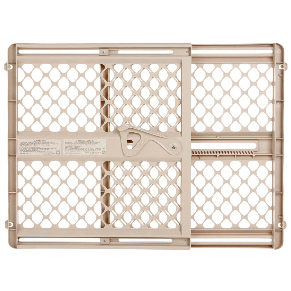 """Image of """"Toddleroo By North States Supergate Ergo Baby Gate - Sand 26.0"""""""" - 42.0"""""""" Wide"""""""