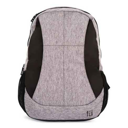 "FUL 19"" RFID Westly Backpack - Heather Grey/Black - image 1 of 8"
