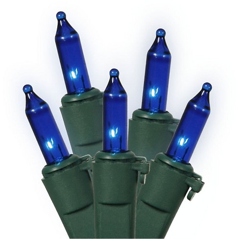 100ct Icicle Ec Set 9'L Bag - Blue - image 1 of 1