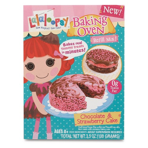 Lalaloopsy Baking Oven Mix - Chocolate and Strawberry Cake - image 1 of 3