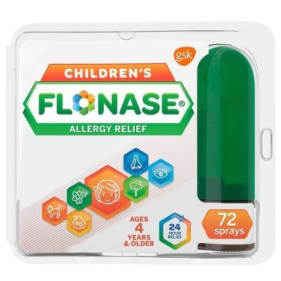 Flonase Children's Allergy Relief Nasal Spray - Fluticasone Propionate - 72 sprays - 0.38 fl oz