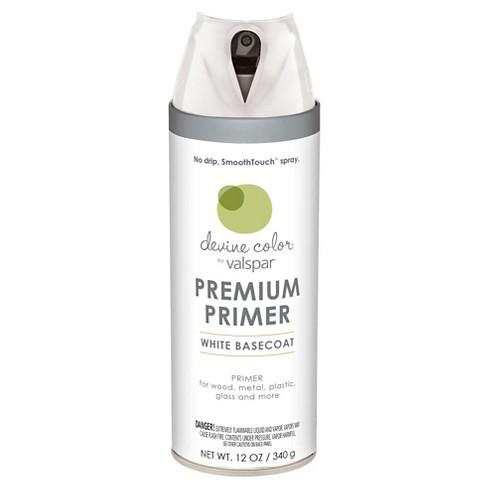 Devine Color Spray Paint By Valspar White Primer 12 Oz Aerosol Target
