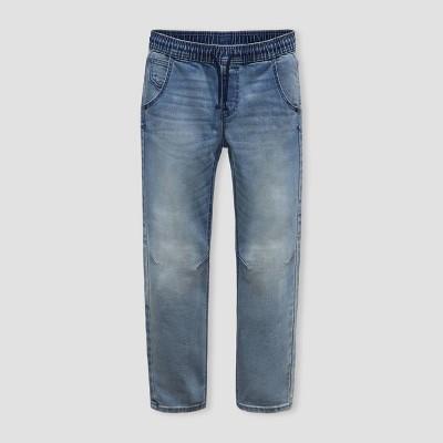 Boys' Super Stretch Jogger Fit Jeans - Cat & Jack™ Light Blue