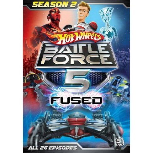 Hot Wheels Battle Force 5: The Complete Season 2 (DVD) - image 1 of 1
