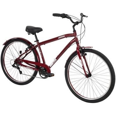 "Huffy Men's Casoria 27.5"" Comfort Hybrid Bike - Red"