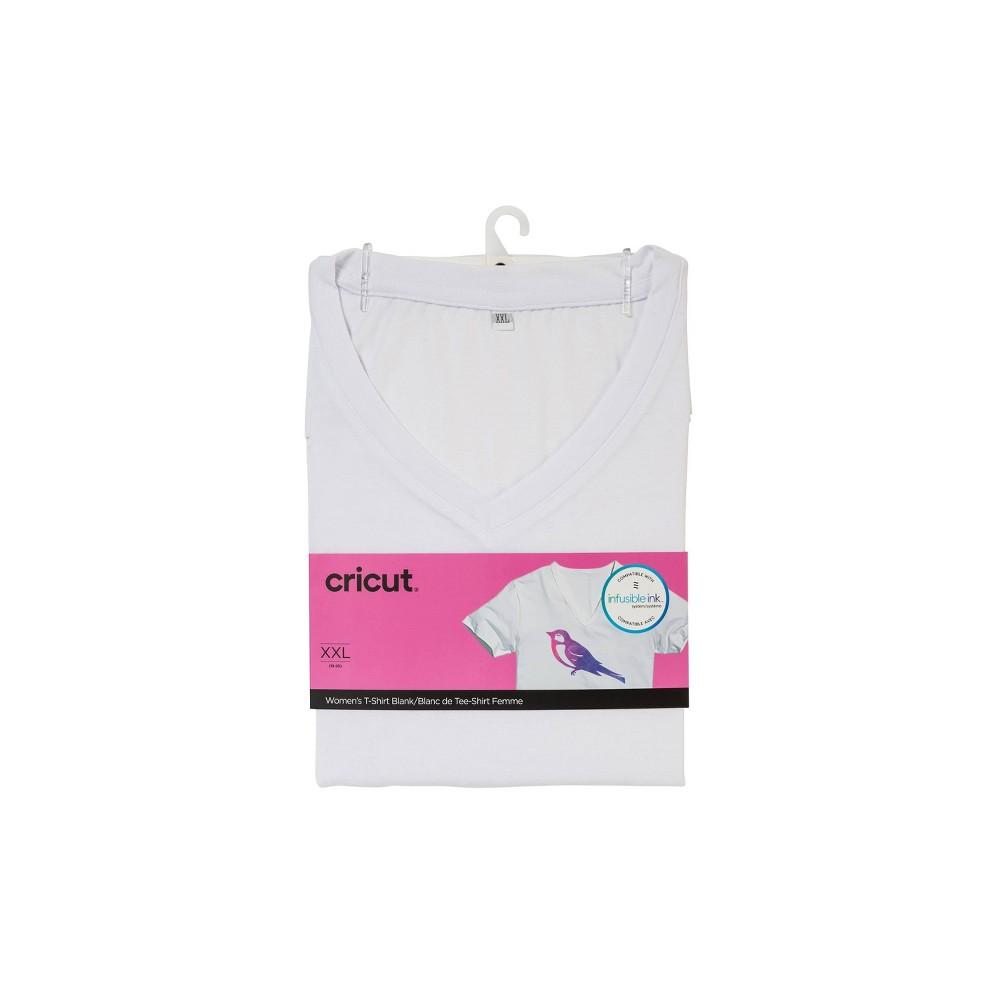 Cricut Women 39 S V Neck T Shirt Xxl