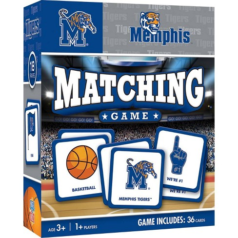 NCAA Memphis Tigers Matching Game - image 1 of 2
