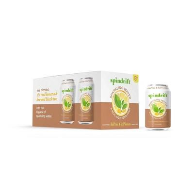 Spindrift Half Tea/Half Lemon Sparkling Water - 8pk/12 fl oz Cans