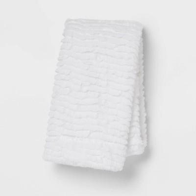 Standard Cut Plush Solid Pillowcase Set - Room Essentials™