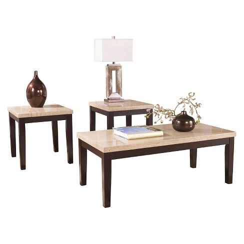 Wilder Occasional Table Set Espresso (Set of 3) - Signature Design by Ashley - image 1 of 3