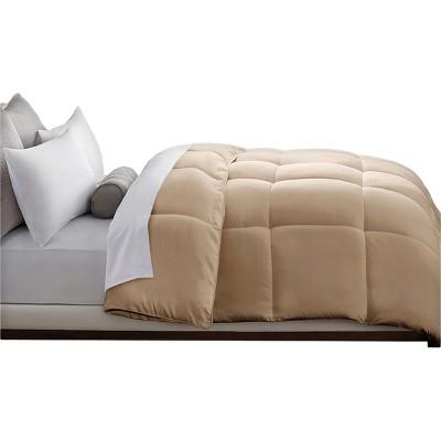 Microfiber Down Alternative Comforter (Full/Queen)Khaki
