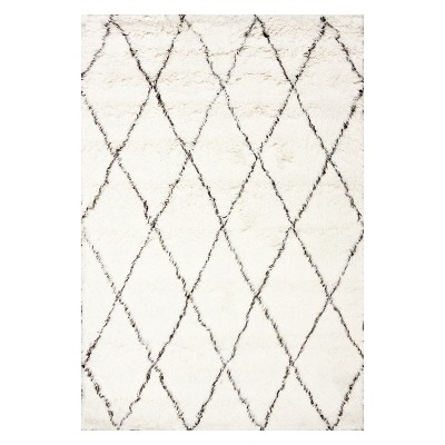 Off-White Solid Tufted Area Rug 12'X15' - nuLOOM