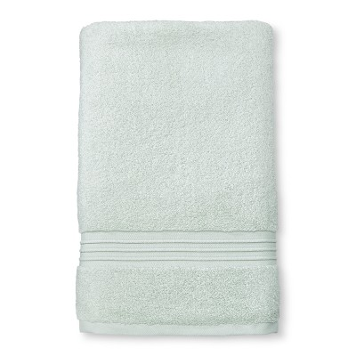 Spa Solid Bath Sheet Gray Mint - Fieldcrest®