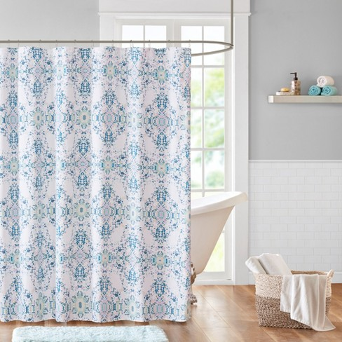 Shower Curtain Galaxy Blue - image 1 of 2