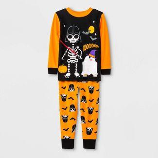 Toddler Boys' 2pc Star Wars Pajama Set - Black 4T