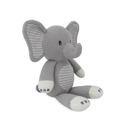 Living Textiles Baby Stuffed Animal - Mason Elephant