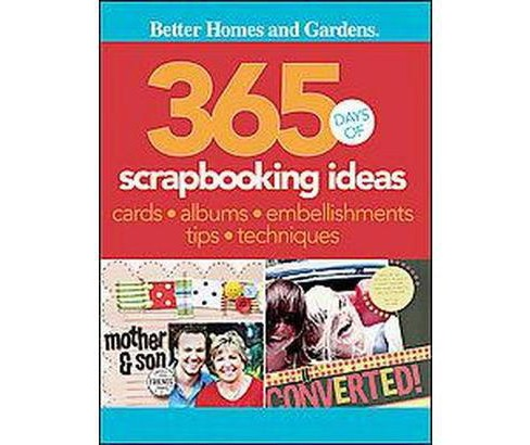 365 Days of Scrapbooking Ideas (Paperback) - image 1 of 1