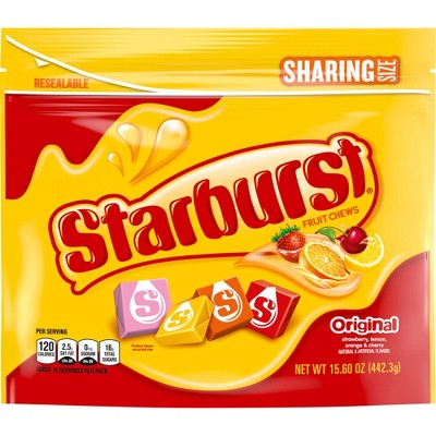 Starburst Original Sharing Size Chewy Candy - 15.6oz