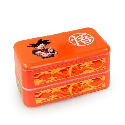 Just Funky Dragon Ball Z Goku Bento Box w/ Chopsticks & Spoon