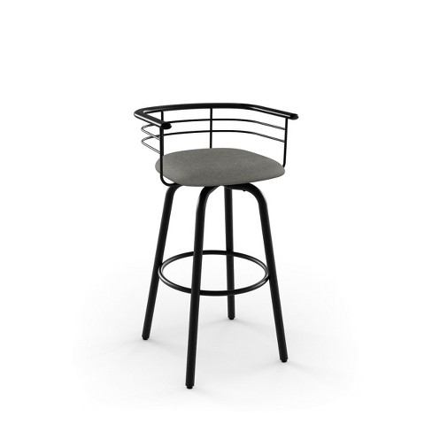 "Amisco Turbo 30"" Bar Stool with Upholstered Seat - image 1 of 2"