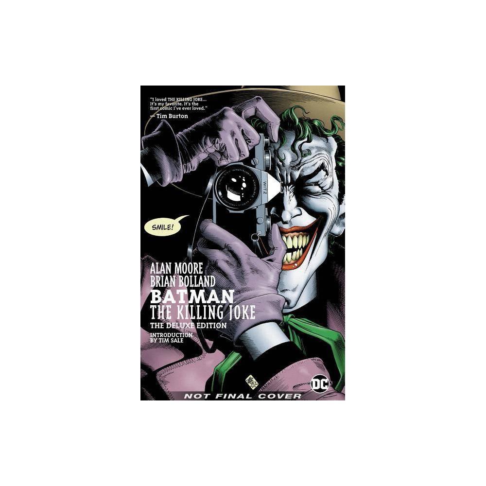 Batman The Killing Joke Deluxe New Edition By Alan Moore Hardcover