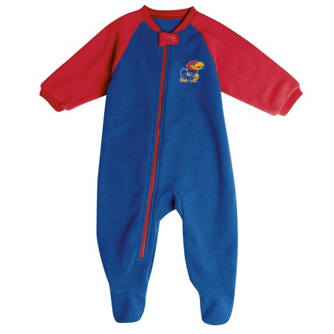 NCAA Kansas Jayhawks Infant Blanket Sleeper - image 1 of 2