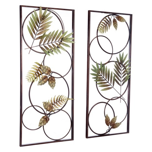 """ZM Home 35"""" Tropical Wall Sculpture - image 1 of 3"""