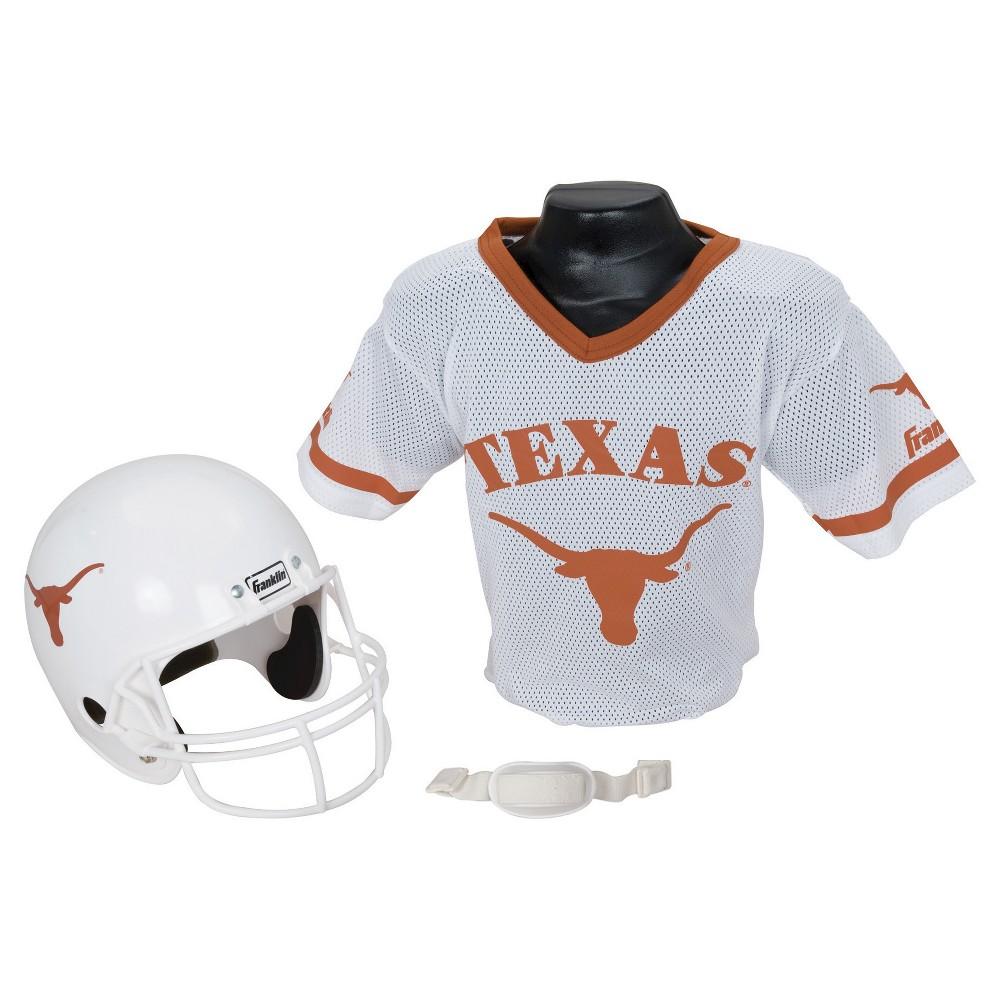 Franklin Sports NCAA Team Helmet and Jersey Set - Ages 5-9 - Texas Longhorns, Size: Medium