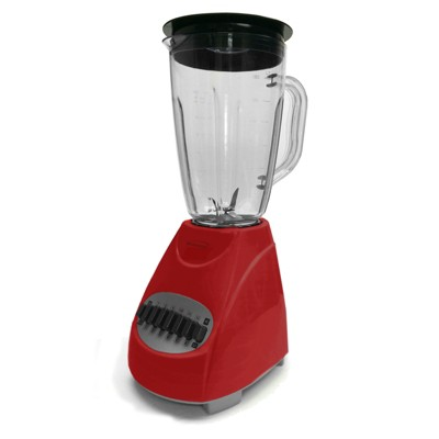 Brentwood 12-Speed Blender Glass Jar in Red