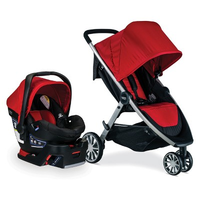 Britax B-Lively/B-Safe 35 Travel System - Cardinal