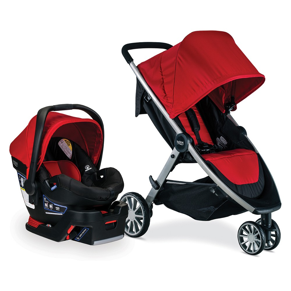 Image of Britax B-Lively/B-Safe 35 Travel System - Cardinal, Red