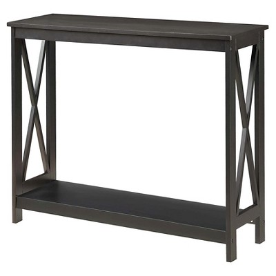 Console Table Black - Johar Furniture