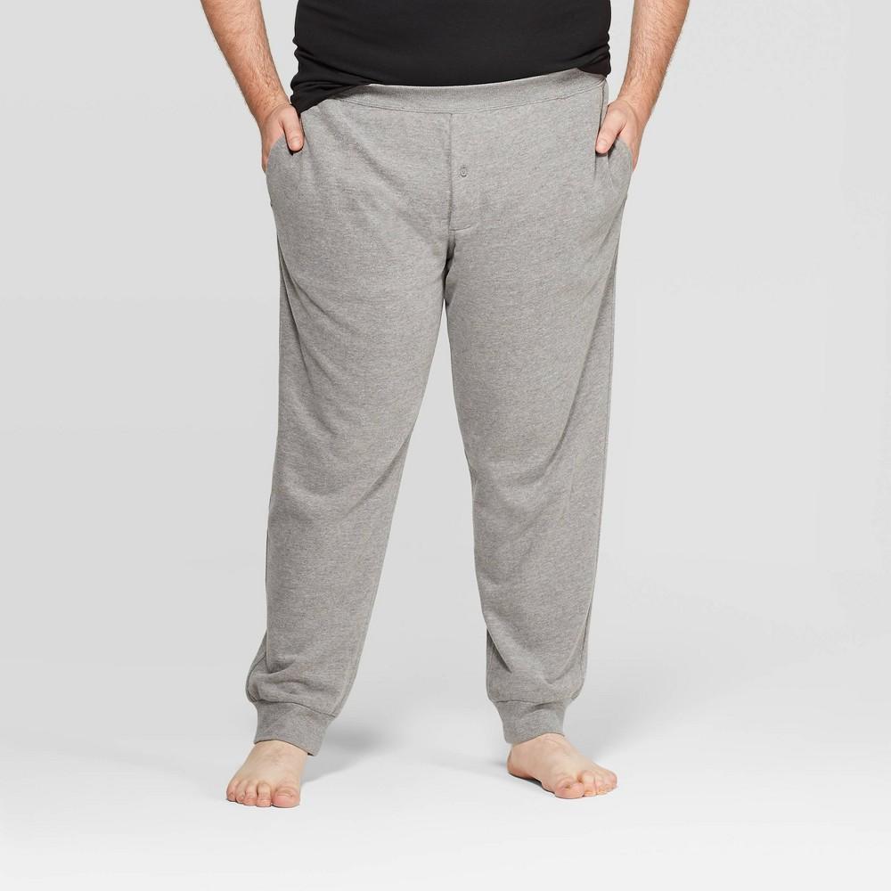 Men 39 S Big 38 Tall Knit Jogger Pajama Pants Goodfellow 38 Co 8482 Thundering Gray 5xbt