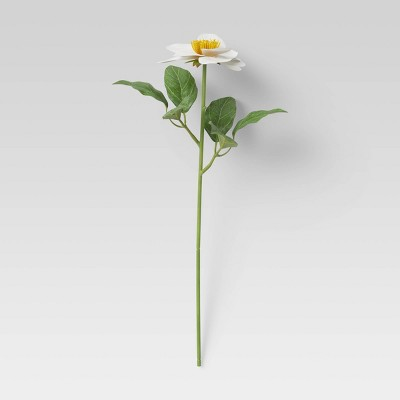 "24"" Artificial Flower Stem White - Threshold™"